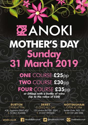 Anoki Mother's Day 2019