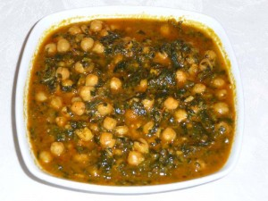 Spinach Chick Pea